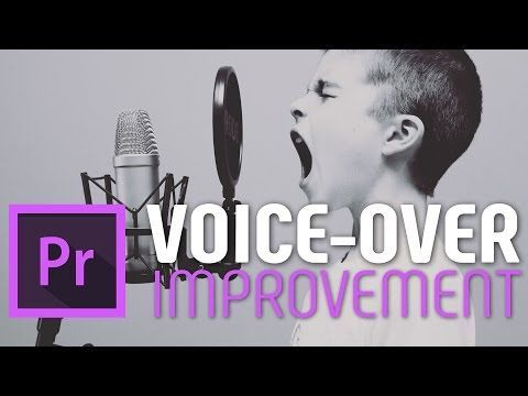 (2) Fast Voice-over improvement tutorial for Adobe Premiere Pro cc - YouTube