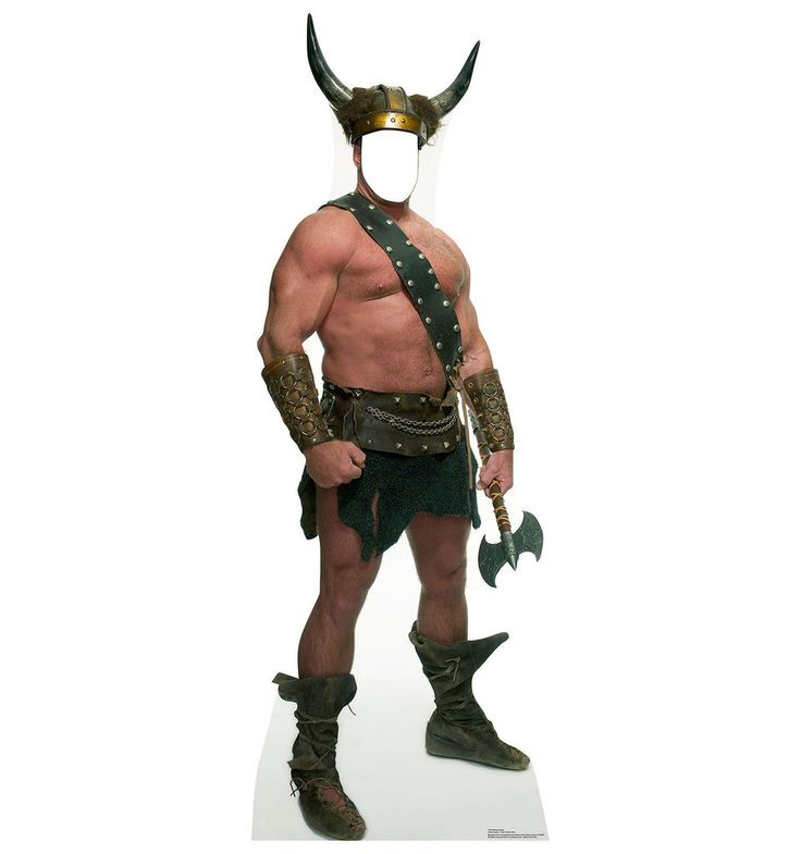 Viking Nordic Warrior Barbarian Standup Standee Cardboard Cutout Poster Stand In