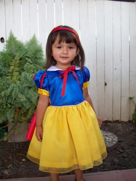 Snow White Toddler Costume by Princessonthego