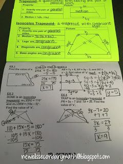 123 best Geometry Interactive Notebook images on Pinterest ...