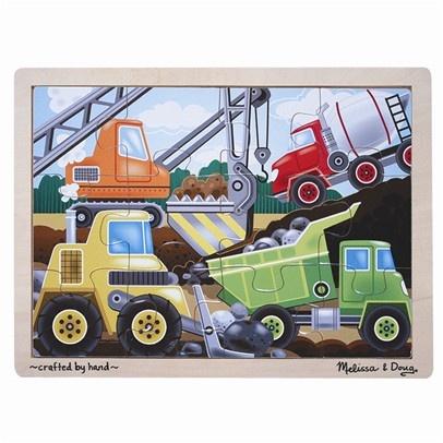 Construction site 12 piece puzzle (Melissa and Doug brand)