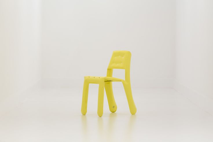 Modern yellow chair by Zieta Prozessdesign / Product available on HomeLovers.pl