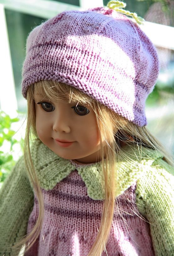 209 Best American Doll Knitted Clothes Images On Pinterest