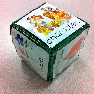FREE Reading Comprehension Cubes