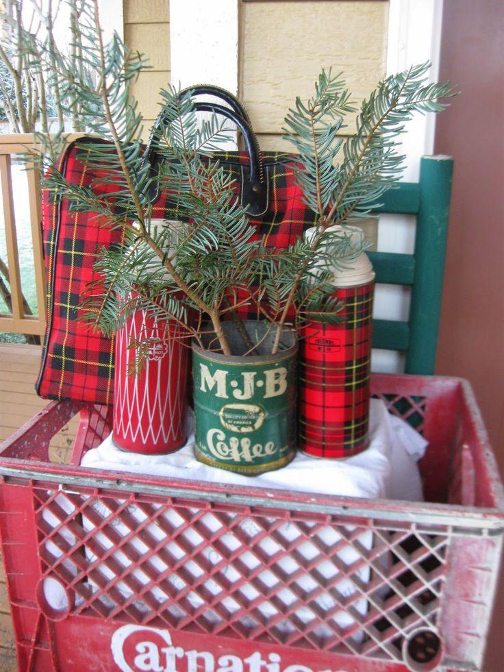 The Gluten Free Pastor's Wife: Christmas in Full Vintage Swing