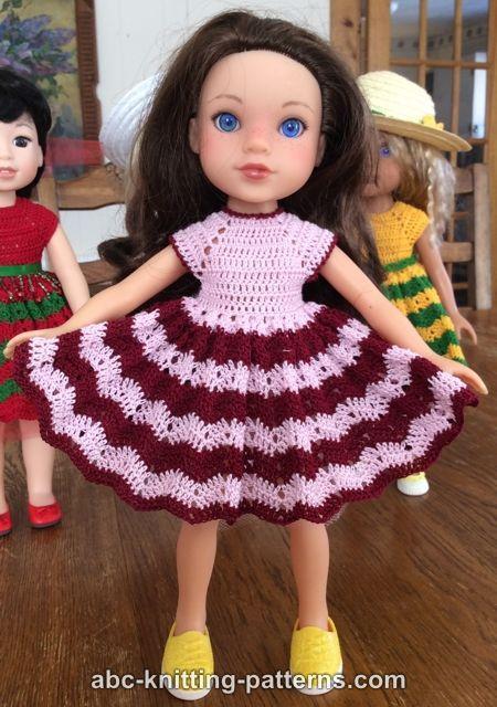 ABC Knitting Patterns - Wellie Wishers Chevron Summer ...