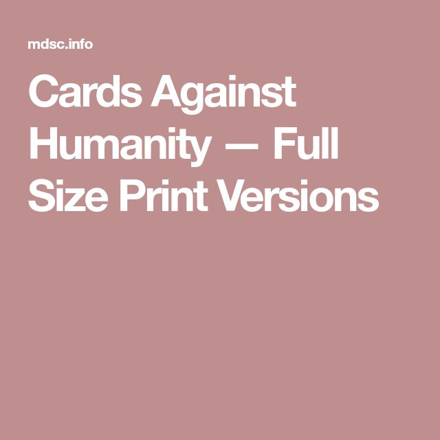 cards against humanity fourth expansion pdf