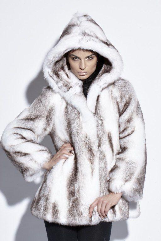 White Faux Fur Coat With Hood Fashion Women S Coat 2017