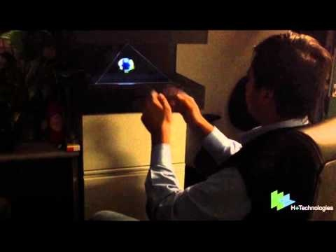 4DBox - Gesture Based Holographic System
