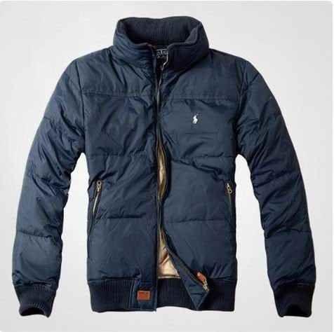 Ralph Lauren Polo Mens Down jacket In Blue