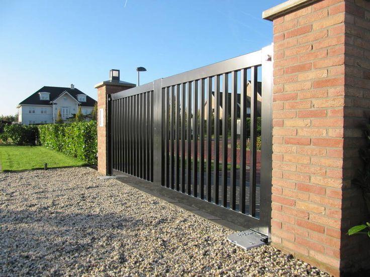 25 beste idee n over poorten op pinterest tuin poorten en tuinhek - Tuin oprit plaat ...