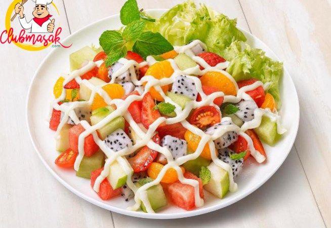 Resep Salad Buah Sehat Segar Dan Menyehatkan Resep Salad Buah Resep Salad Buah Segar Makanan Sehat