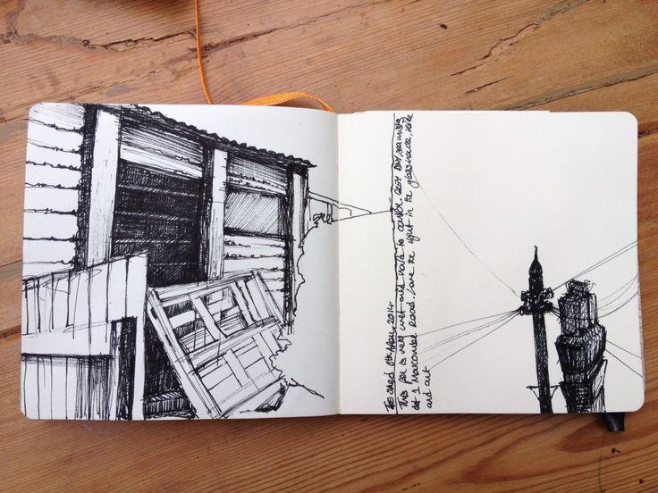 Kate Boucher. Sketchbook march 2014 - art journal