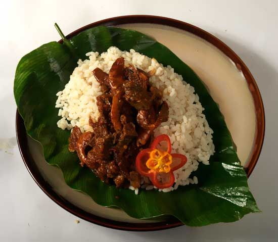 CLEVENARD NIGERIAN RICE (OFADA) is a local rice and it's not prepared like any other common rice you know, Ofada rice is one of the most popular traditional rice in the eastern part of Nigeria. The food is also quite popular in other African countries and especially in West Africa.   Ofada rice is a Nigerian food that is quite the recipe of choice because of its great taste and high nutritional value.