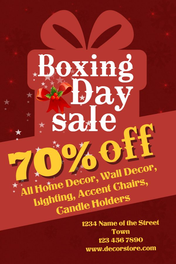 7 best boxing day retail flyer templates images on