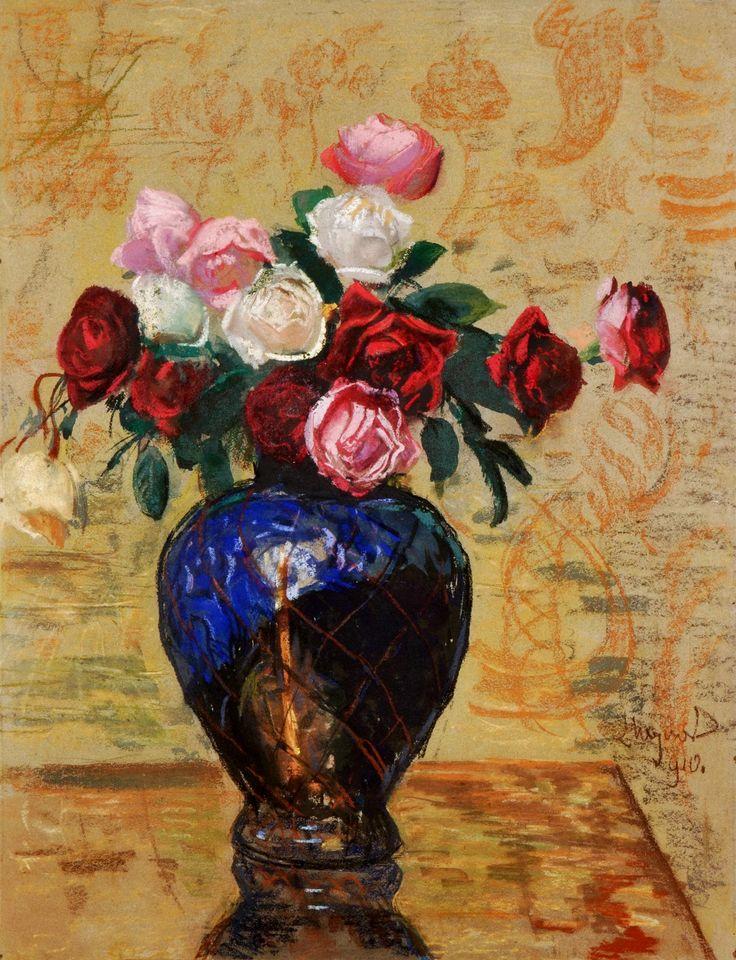 Roses by Leon Wyczółkowski, 1910 (PD-art/70), Ossolineum