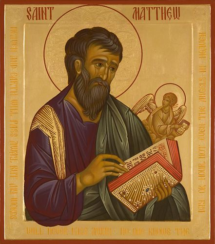 Saint Matthew - Icons of the Four Evangelists