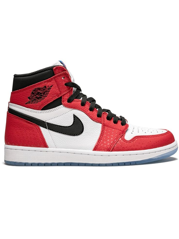 JORDAN JORDAN AIR JORDAN 1 RETRO SNEAKERS - RED. #jordan #shoes ...