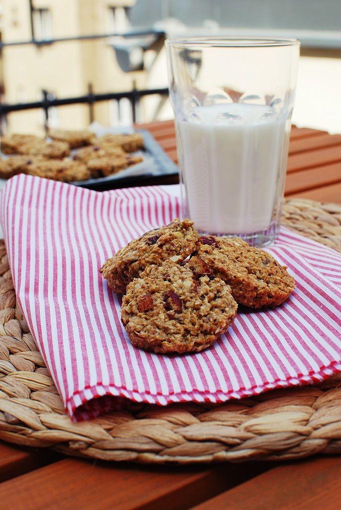 FoodLover: Ovesné sušenky s brusinkami