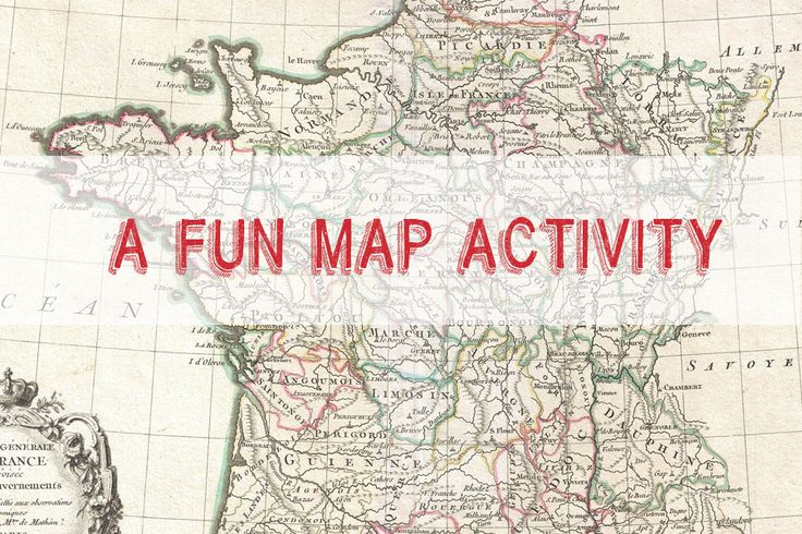 "One of the activities I do with my beginners involves a ""map."" Lots of CI and repetitions - and no copies to make!"