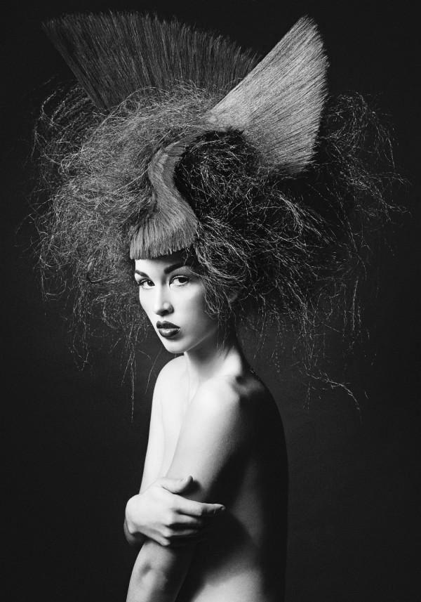 Model Havilah B. Hair: Darin Bishop. Creative Director: Toni and Guy Dallas