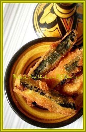 Lekkere gefrituurde courgettesticks voor bijvlees of vis......Dit heb je nodig2-3 courgettes1 eipaneermeelzout en peper naar smaakknoflookpoeder of specerijen naar smaaksesamz