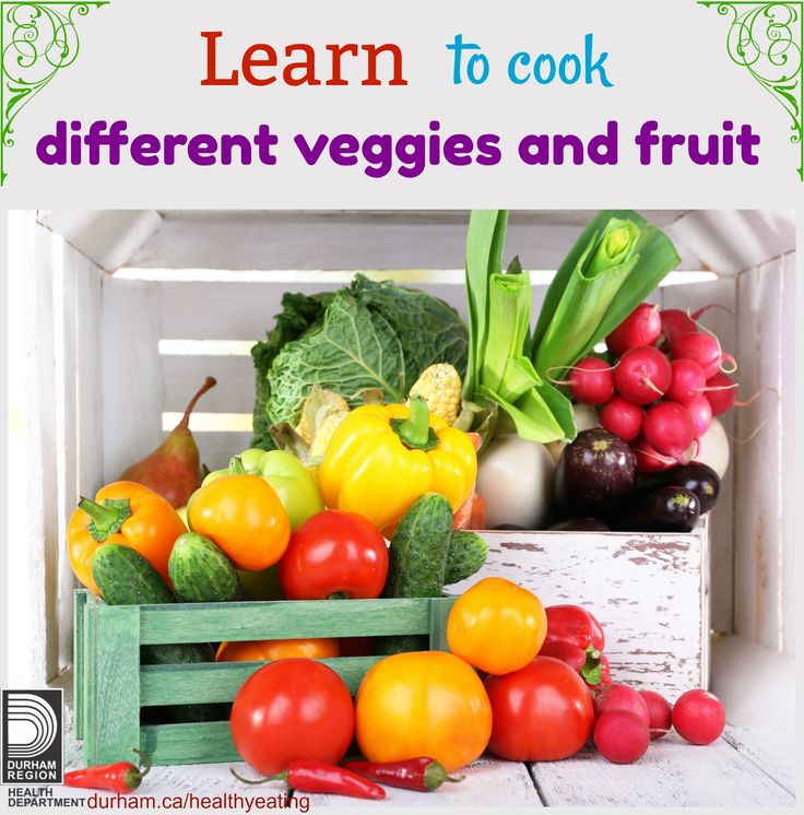 Are you looking to use new veggies and fruit in your meals but you don't know how to cook them? Take a look at these great video clips that show different types of vegetables and fruit and different ways you can incorporate them into your breakfast, lunch or dinner.