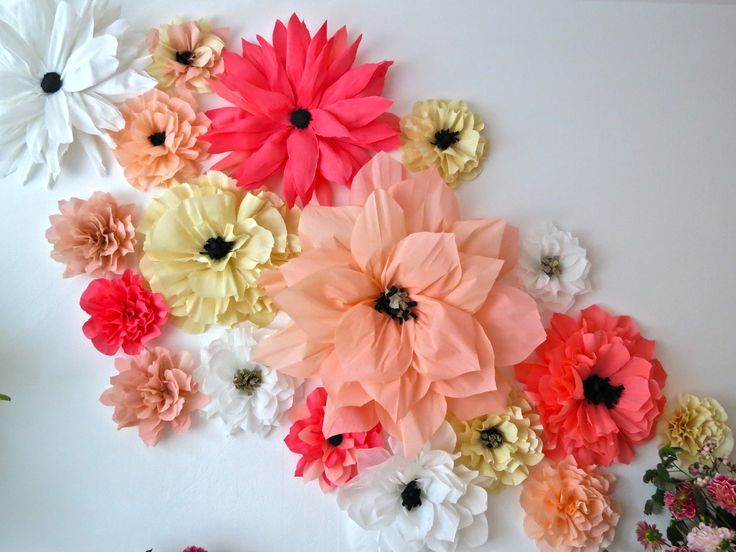 37 best diy room dividers images on pinterest paper flowers paper besides creating a paper flower wall which was incredibly fun we designed arrangements with lots of beautiful dahlias mightylinksfo