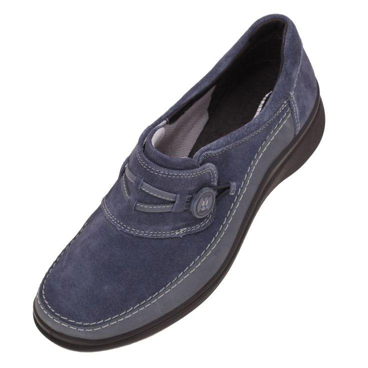 Zapatos Flexi para mujer 19302 Navy Modelo Casual en Marino