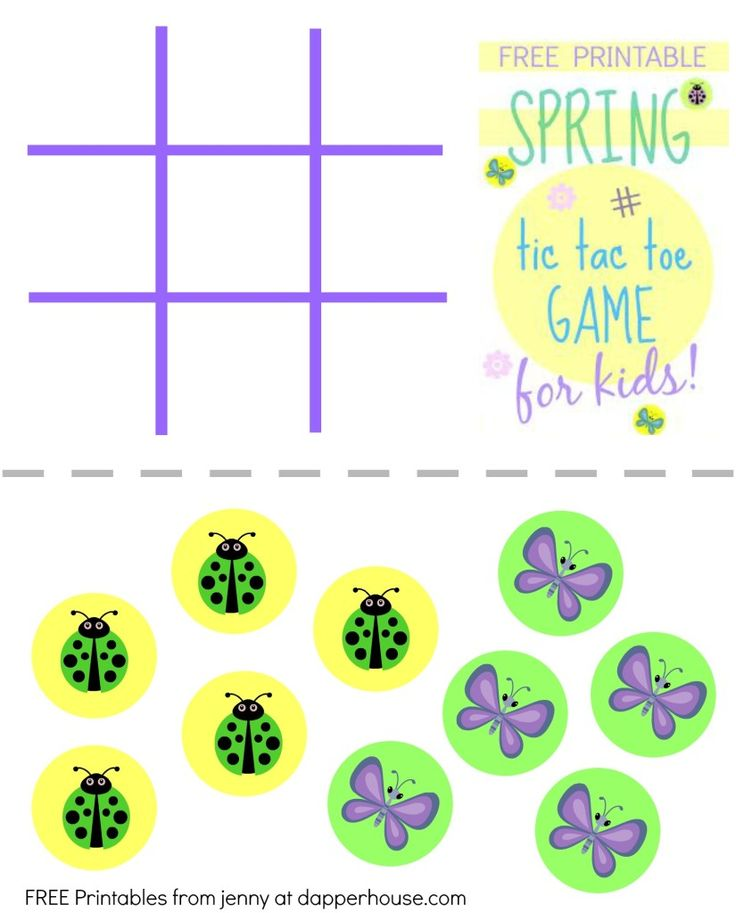 Printable Tic Tac Toe TemplateTicPrintable Coloring Pages Free