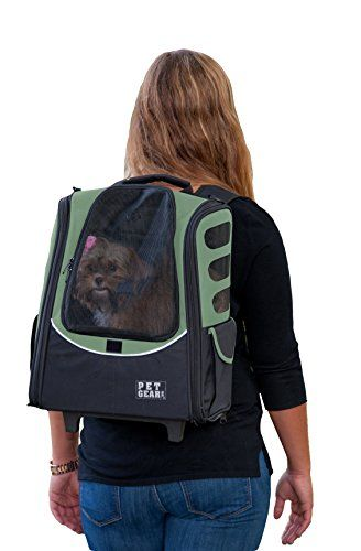 Pet Gear IGO2 Escort Roller Backpack for cats and dogs Sage >>> Find out more about the great product at the image link. This Amazon pins is an affiliate link to Amazon.