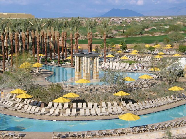 JW Marriott Desert Ridge Resort, Phoenix, AZ. This resort is amazingly beautiful.