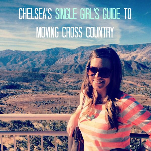 Life is a Sunset: My Single Girl's Guide to Moving Cross Country #singlegirl #movingout
