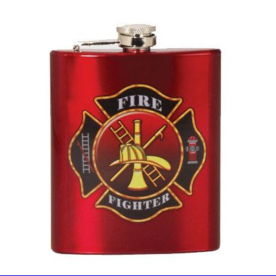 Hip Flask - Fire Fighter – The Gift Spot