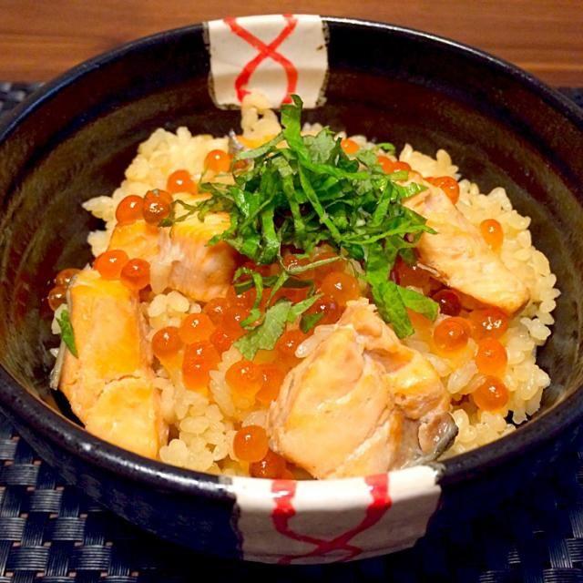 今シーズン初ものの、はらこ飯でしたぁ(✿´⌣`✿)♡ - 100件のもぐもぐ - 秋の味覚☆はらこ飯(^ー^) by mimimimiki