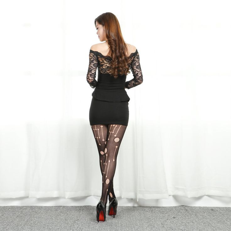 Aliexpress.com : Buy Free shipping mini true silk jacquard stockings sexy lady ultra thin silk fancy stocking tight thin tight black pantyhose from Reliable jacquard woven silk tie suppliers on ZGL RX