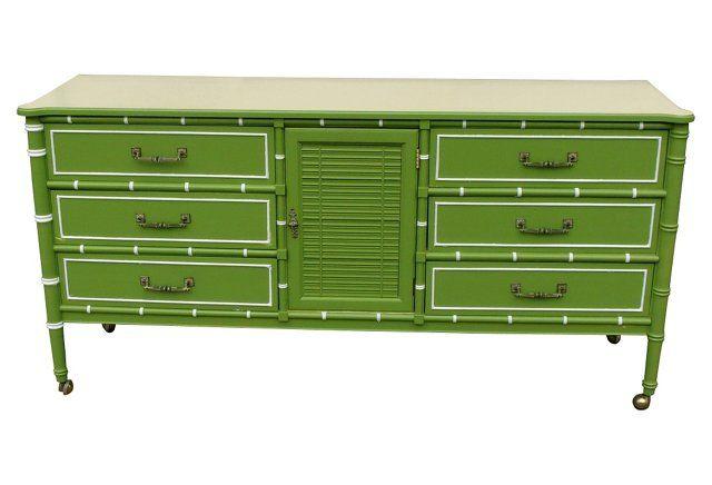 1960s Palm Beach-Style Dresser