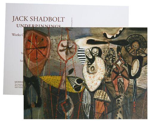 Jack Shadbolt Steedman Design - SHADBOLT BROCHURE & INVITATION