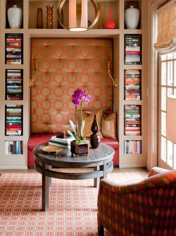 Living Room With Books: 20 Unusual Books Storage Ideas For Book Lovers