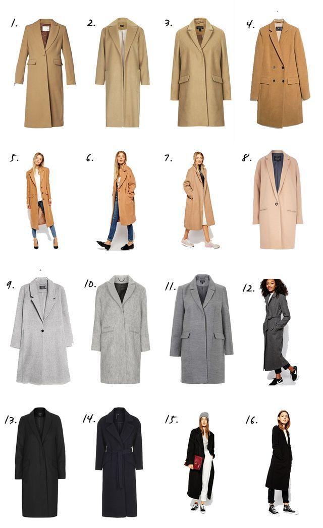 Shopping | The Basic Coat Edit (Budget Version) (via Bloglovin.com )