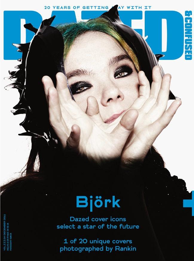 Bjork - Dazed & Confused by Rankin, December 2011
