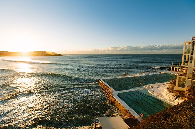 Weekends by the water at Bondi Icebergs