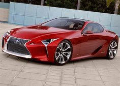 Le futur coupé 2+2 de Lexus adoptera un groupe hybride essence-électrique développant une puissance de 550 ch