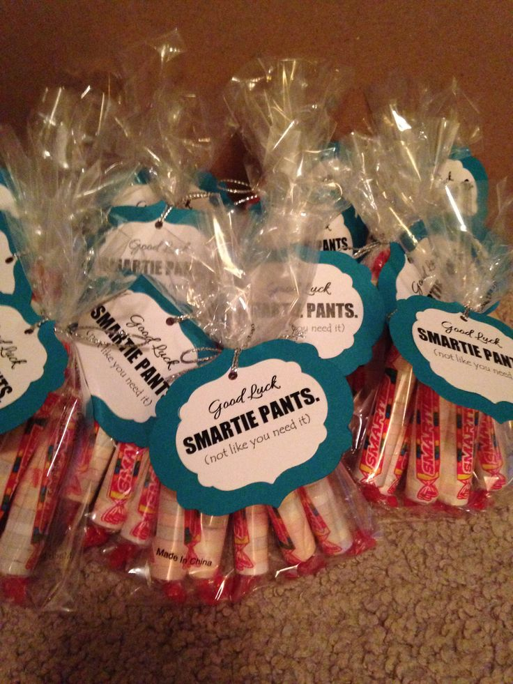 Little Smartie Gifts For My Sorority Sisters During Finals