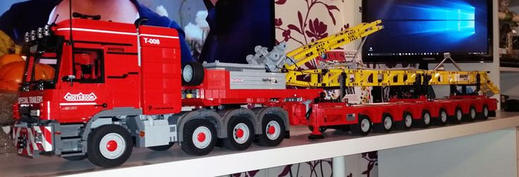 LEGO Technic Actros 4165 SLT MP3: Mein MOC im LUG Showcase › PROMOBRICKS