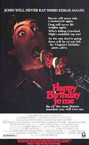 If not the best movie poster ever, at least the best slasher movie poster circa 1981.