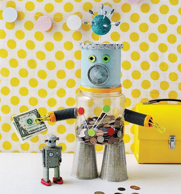 Mein Freund der Roboter. Aus unserem Buch 'Hurra, wir basteln!'