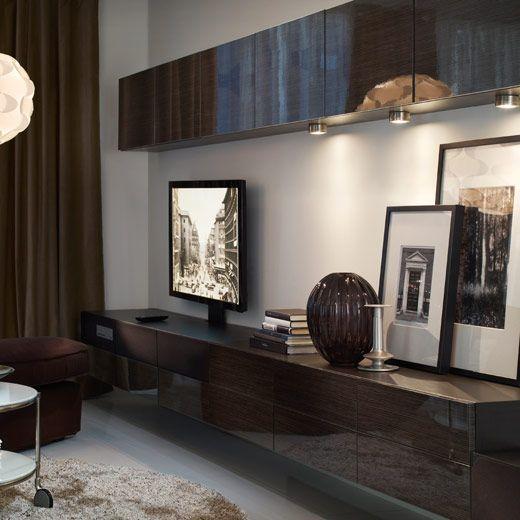 13 best ikea uppleva clever images on pinterest clever tv cupboard and tv rack - Besta wohnzimmer ...