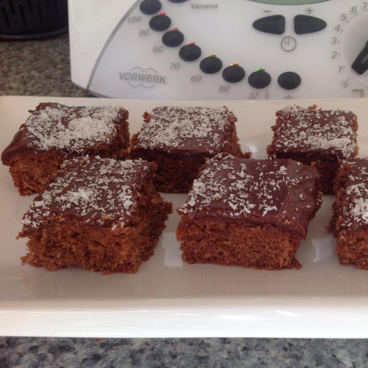 Recipe Choc-Coconut Slice by iThermo - Recipe of category Baking - sweet
