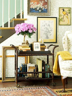 Decorating with Books: Decorating Ideas from (and with) the Pages of Your Favorite Books